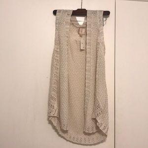 Off white sweater vest